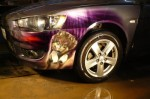 Аэрография бампера Mitsubishi Lancer