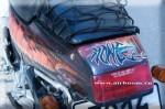 Аэрография на мотоцикле Honda