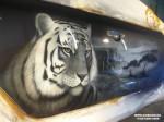 Тигр (аэрография на KIA )